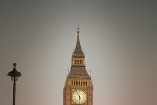 Houses of Parliament in London with Big Ben