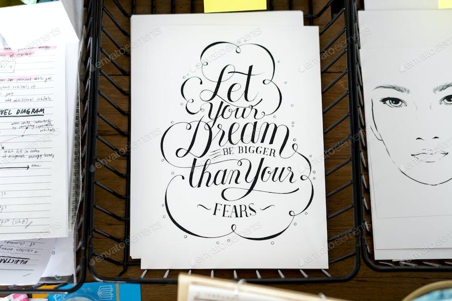 Motivation quote paper