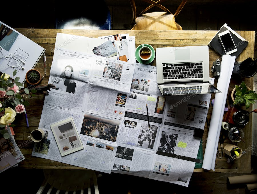 Newspaper Article Update Checking Publication Department